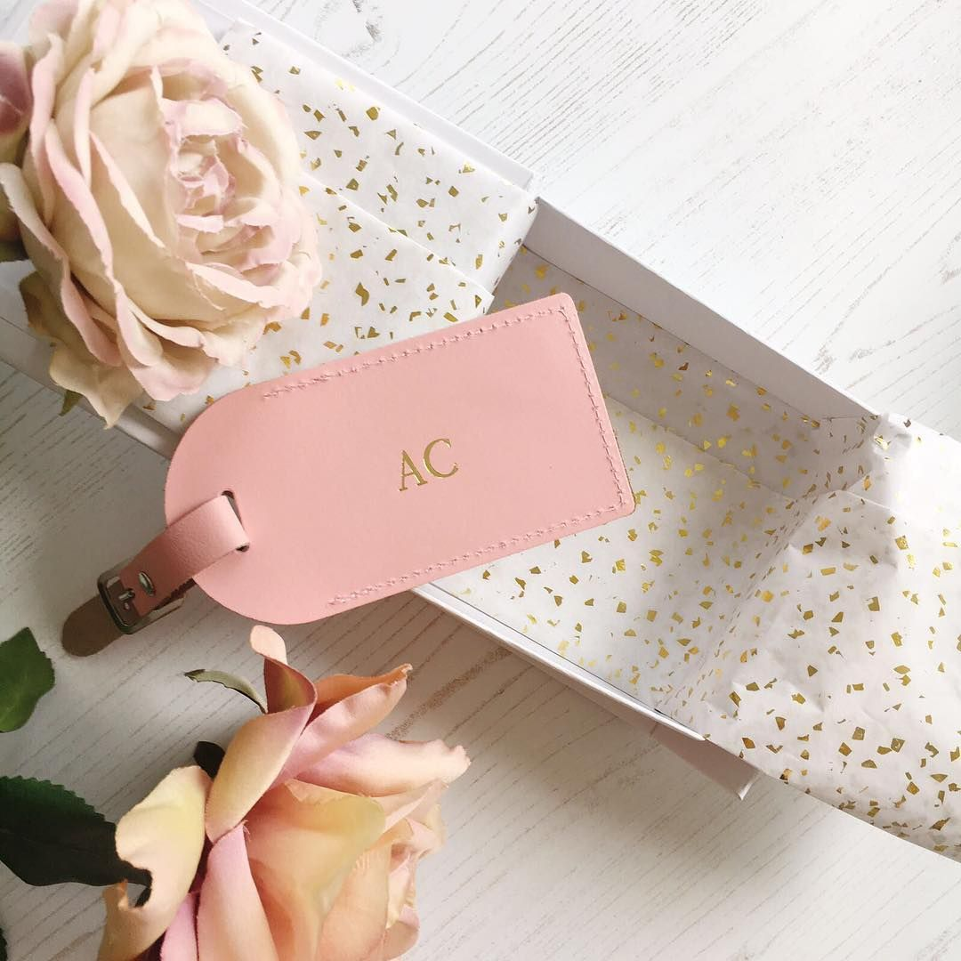 Gold foil on baby pink leather - perfection! 💕🌟💕🌟💕🌟 just ...
