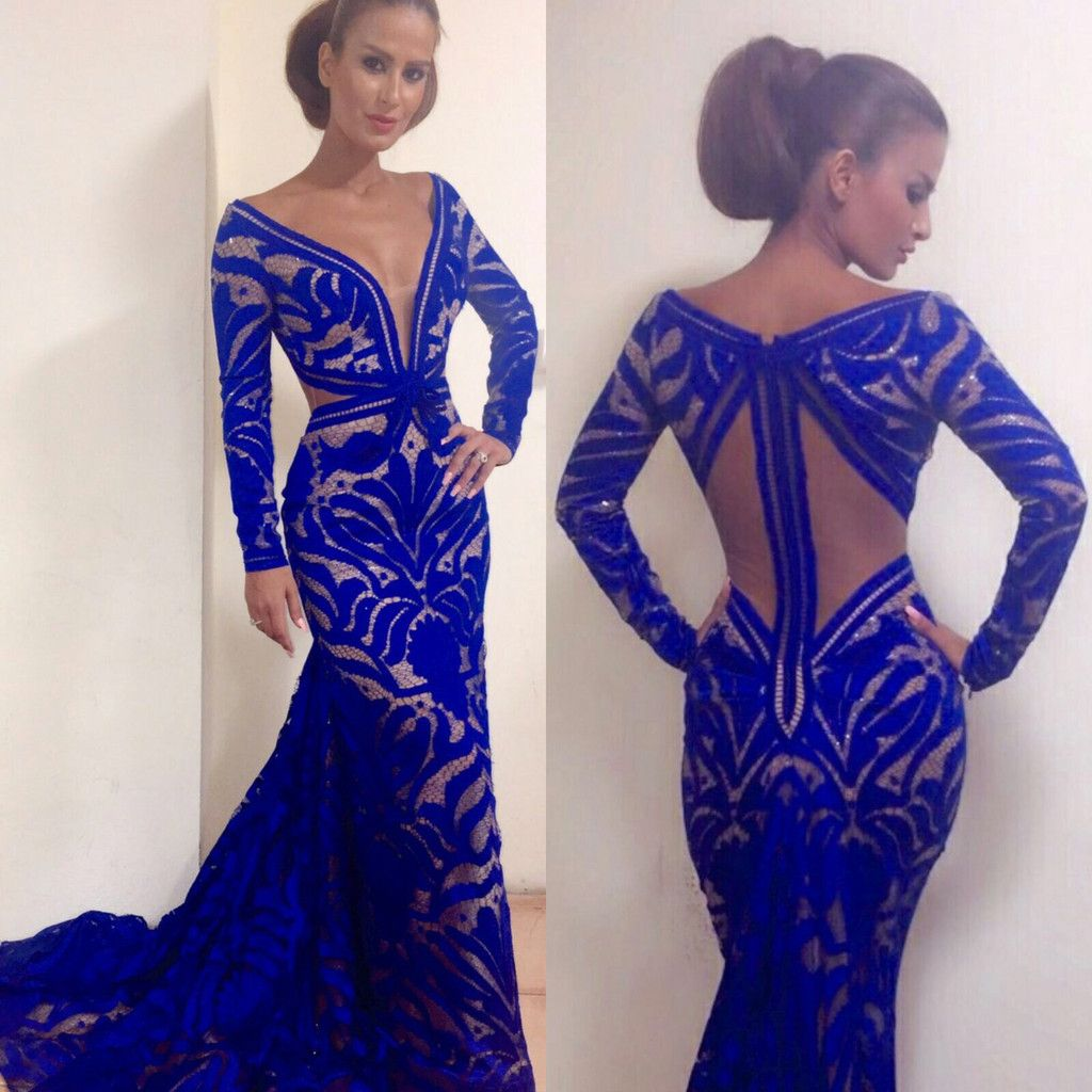Fouad Sarkis Style #2265 | Lebanese Designers- Couture Evening Gowns ...