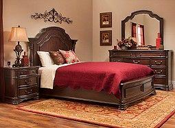 Beckley 4 Pc Queen Bedroom Set Bedroom Sets Queen King Bedroom Sets Queen Sized Bedroom Sets