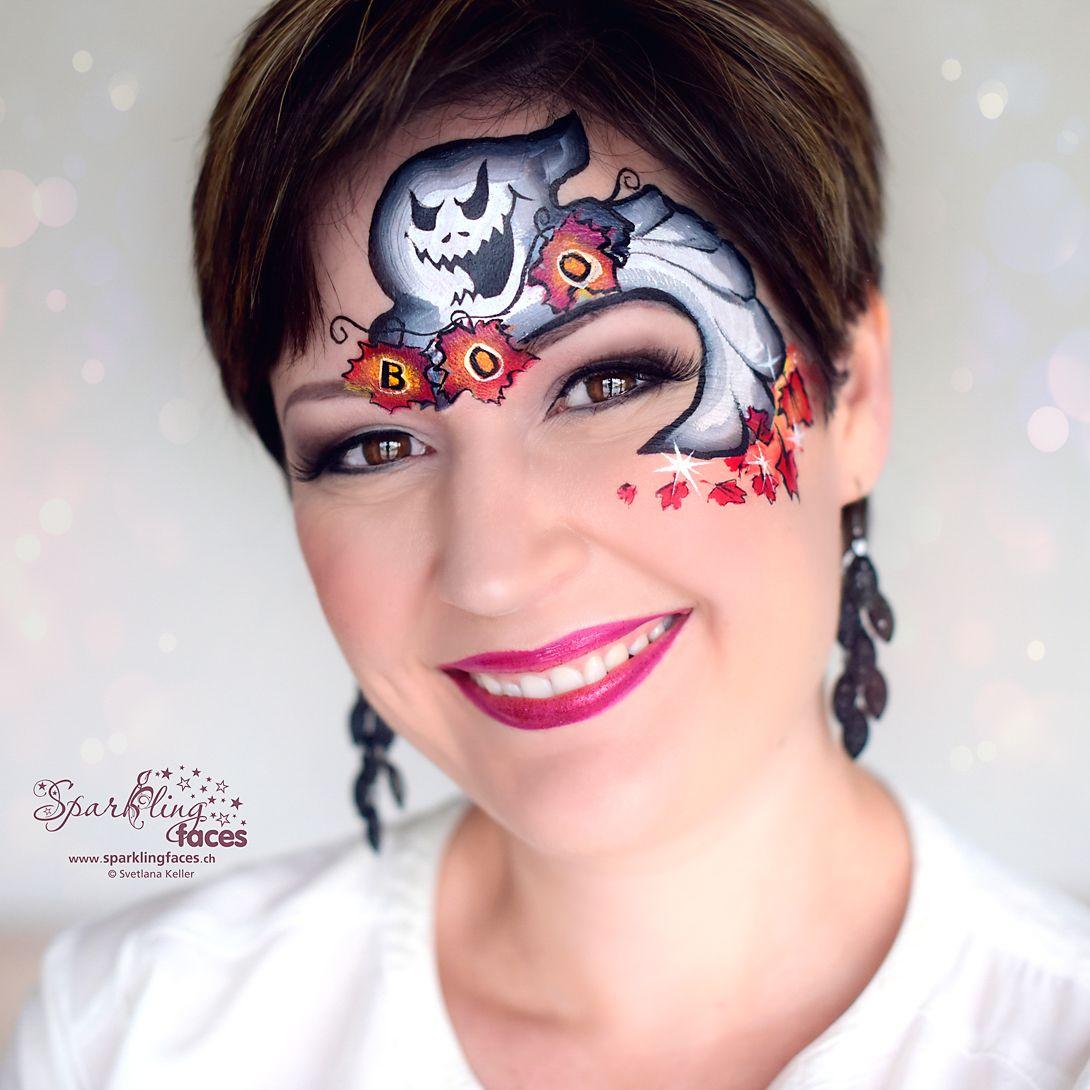 Kinderschminken Halloween Geist In 2020 Kinder Schminken Kinderschminken Kinderschminken Halloween