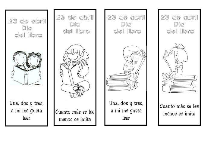 Cómo hacer un marcapáginas para el día del libro | DIA DEL LIBRO ...