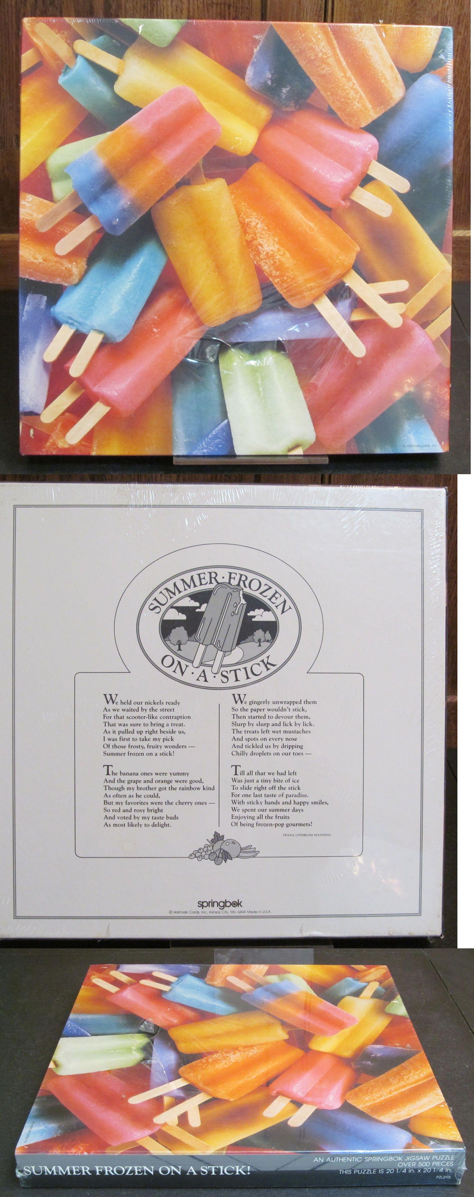 Jigsaw 19189: Springbok Puzzle 500 Pieces Summer Frozen On A