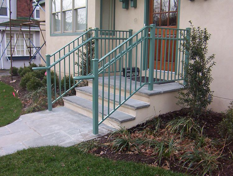 Exterior Railings (With images)   Wrought iron railing ...