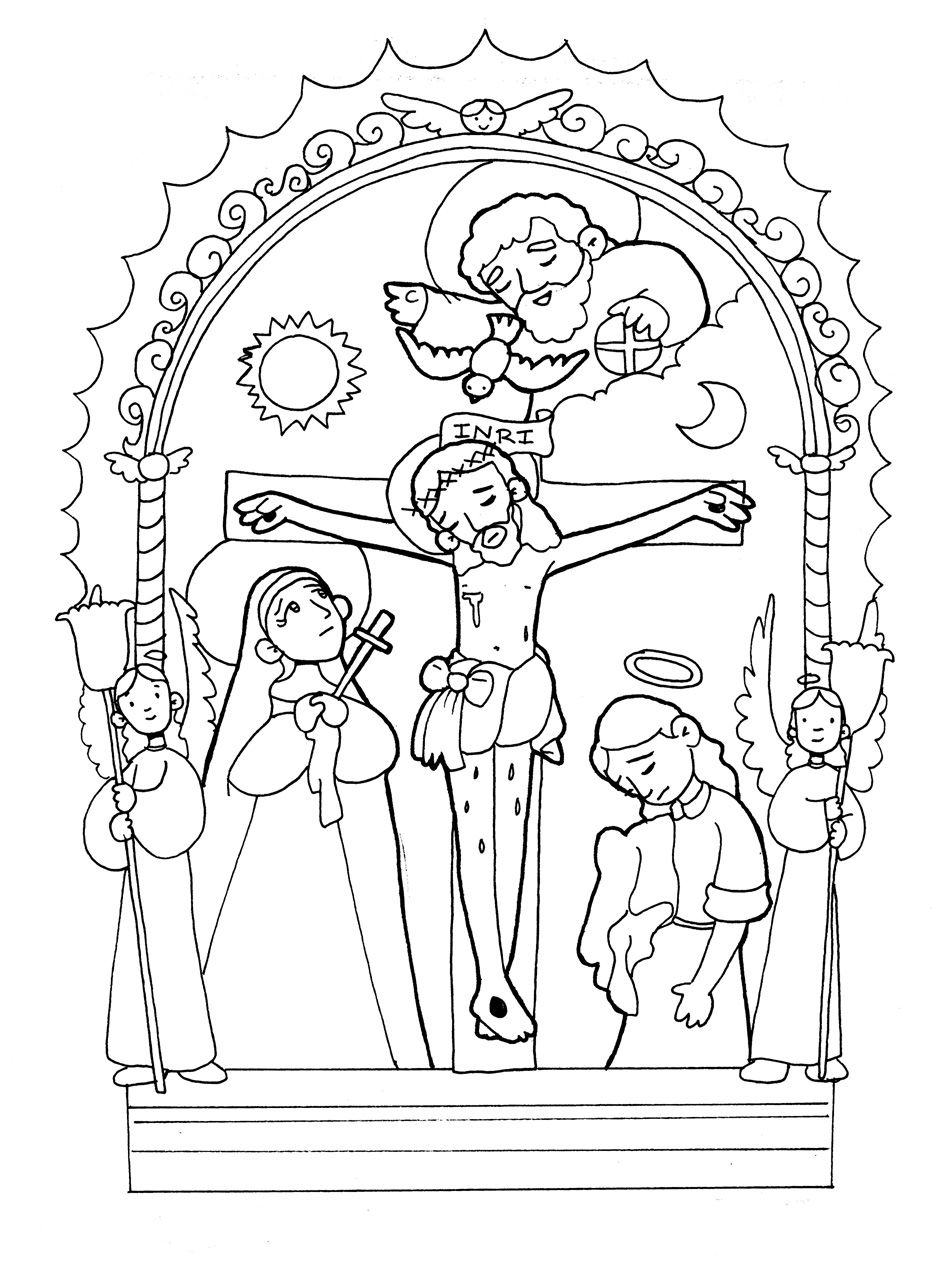 EL SEÑOR DE LOS MILAGROS DE PERÚ para pintar. | Jesús | Pinterest ...