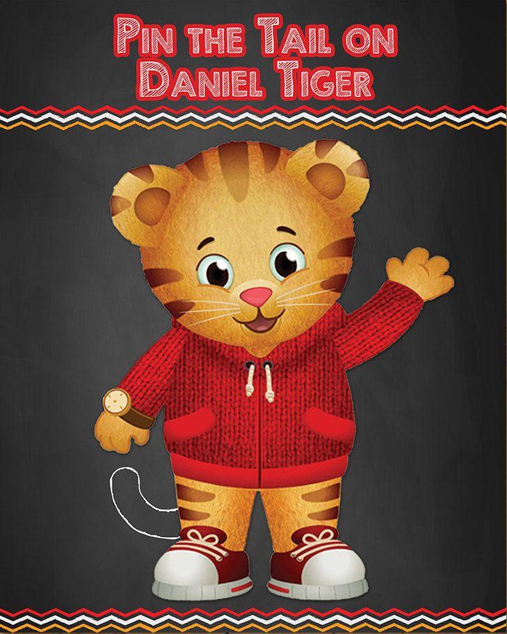 custom favors daniel the tiger  coloring book party favors