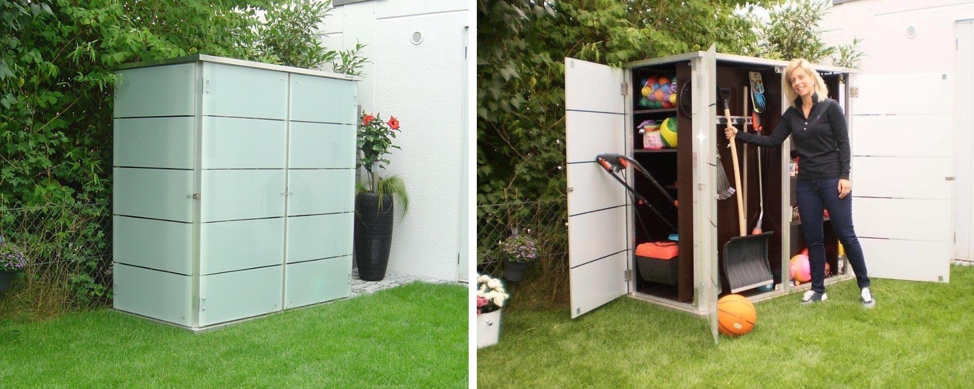 Jetzt Den Garten Aufraumen Gartenschrank Gerateschuppen Kleines Gartenhaus
