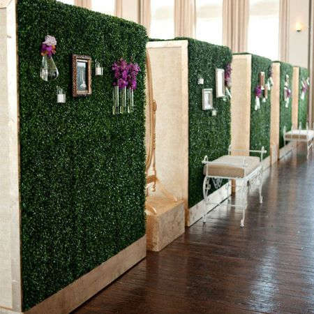 boxwood hedge wall boxwood hedge wall wall backdrops on interior using artificial boxwood panels with flowers id=49505