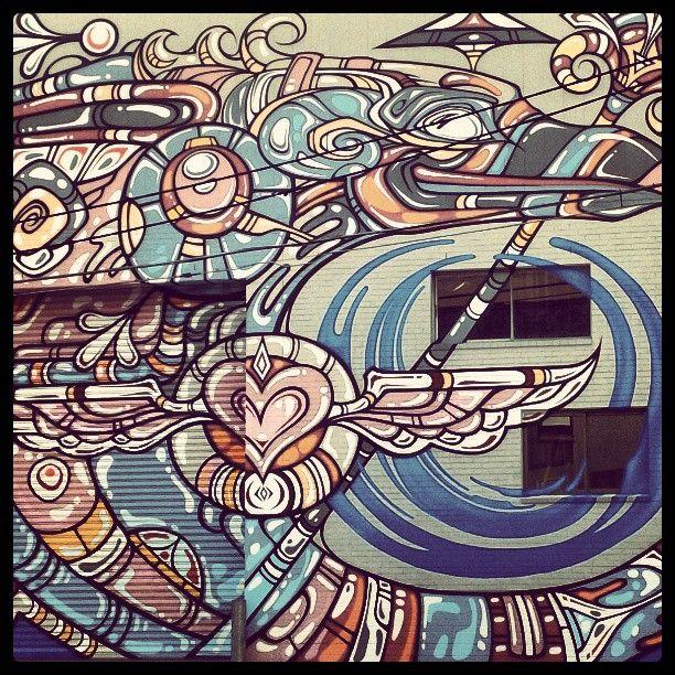 Street Art Stanmore #sydney #stanmore #art #streetart #nsw #innerwest @Costa Arvanitopoulos