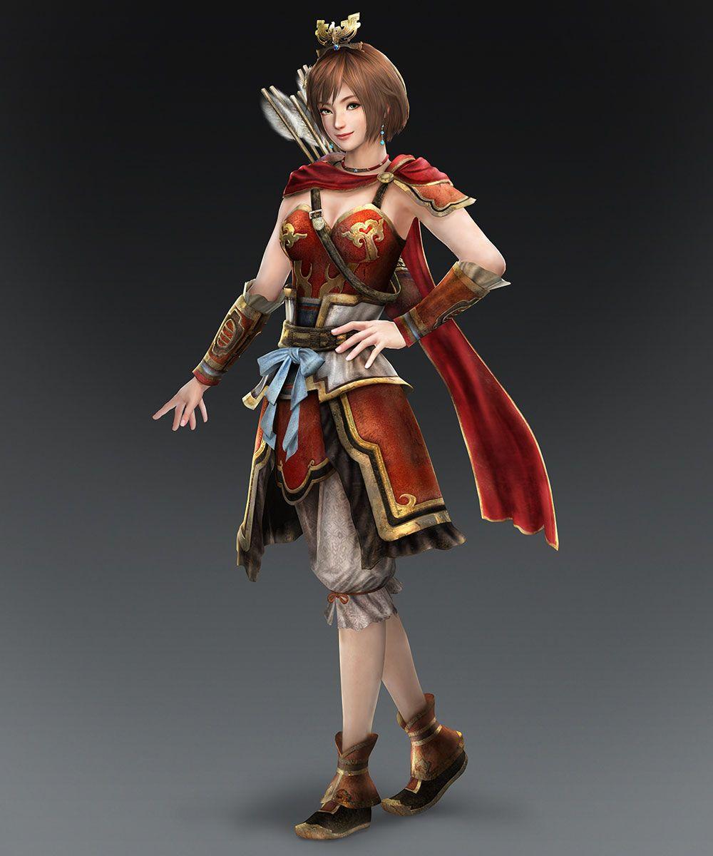 Warriors Orochi 3 Lian Shi: Sun Shangxiang DLC Costume