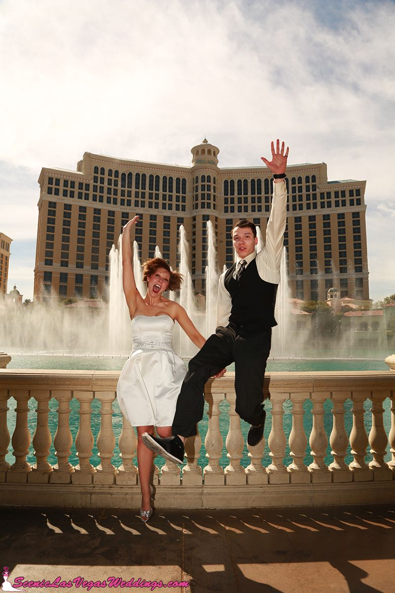 Bellagio Fountains Love This Precious Idea For A Photo