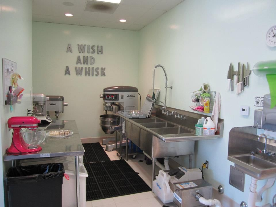 Bakery Kitchen Design From A Wish And A Whisk Bakery  Bakery Things  Pinterest