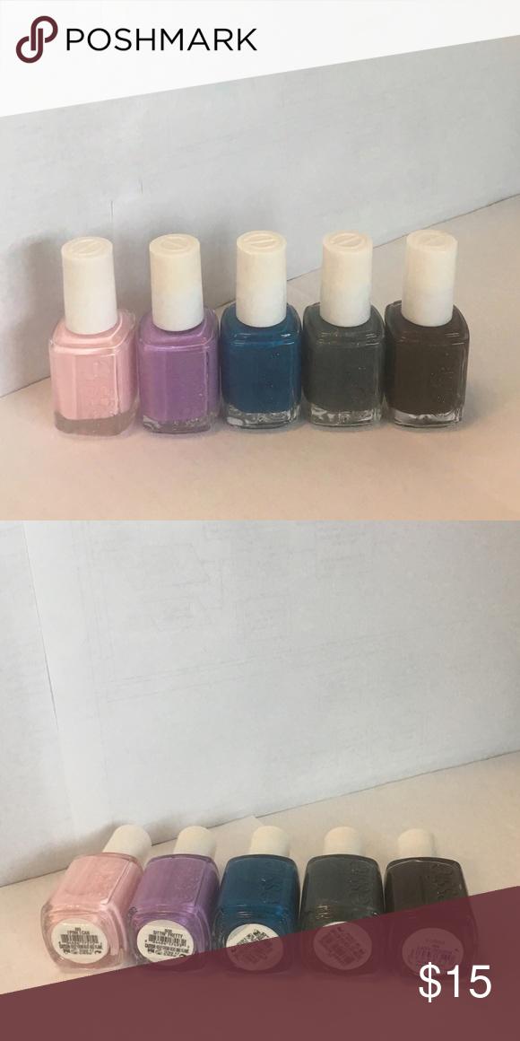 Essie Nail Polish - Set of 5 | Nail polish sets, Essie nail polish ...