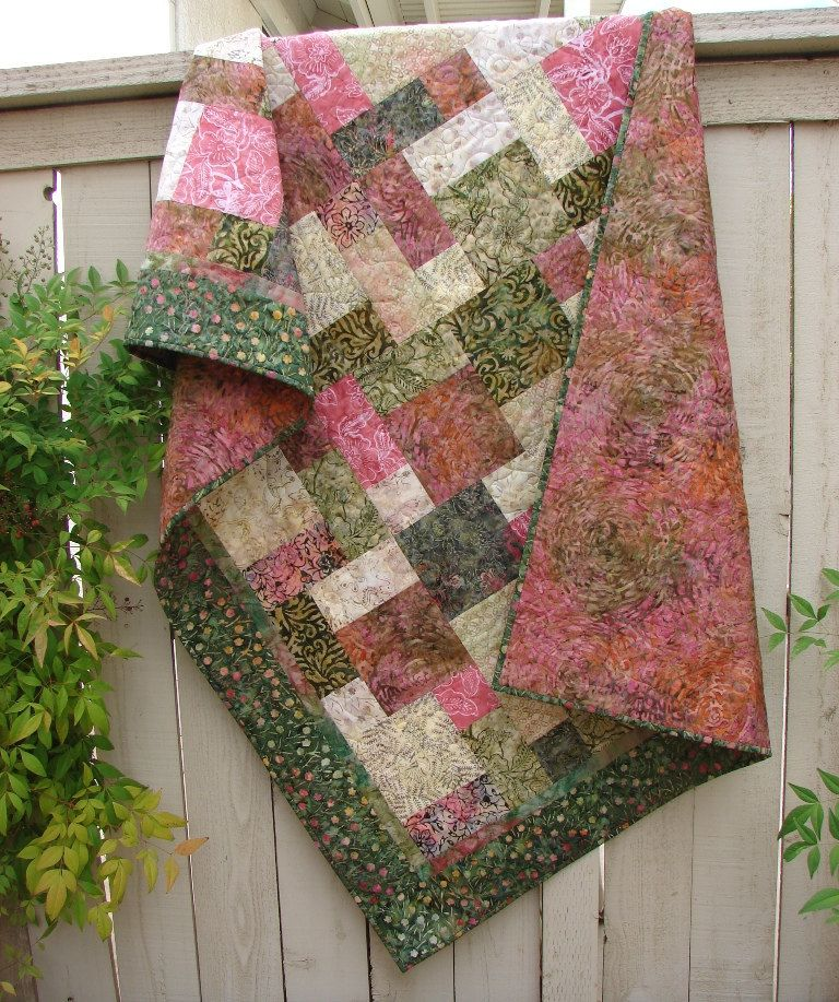 lap and throw quilts booklet