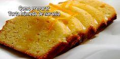 Como preparar  Torta húmeda de naranja