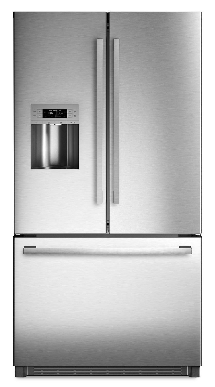 Bosch 800 Series B26ft80sns 255 Cu Ft French Door Refrigerator In