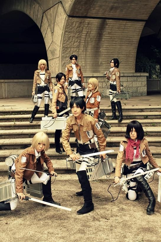 Attack on Titan cosplay...OMG | Cosplay, Aot cosplay, Best ...