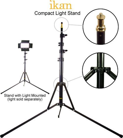 makeup light stand. ikan compact makeup light stand l