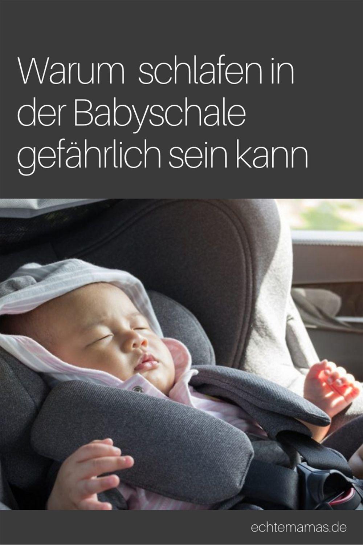 Schlafen In Der Babyschale Das Kann Gefahrlich Werden Babyschale Baby Kindersitz