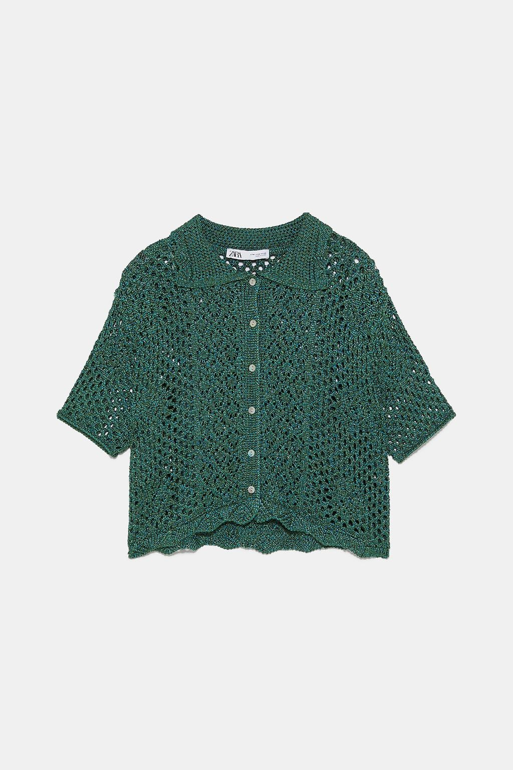 755fd9a30d8f CROCHETED POLO SHIRT  crochet  inspiration  sweaters  fashion  style