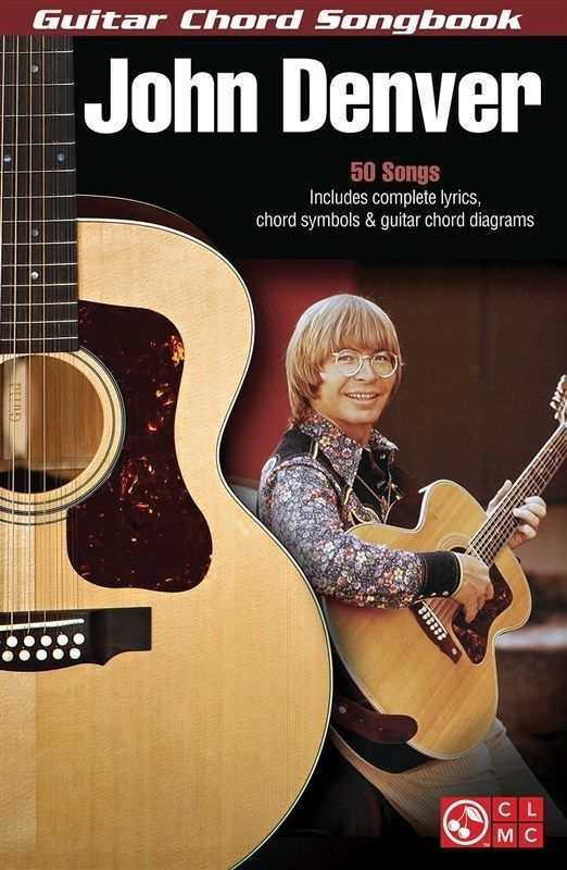 John Denver: Guitar Chord Songbook. Lyrics & Chords Sheet Music | eBay