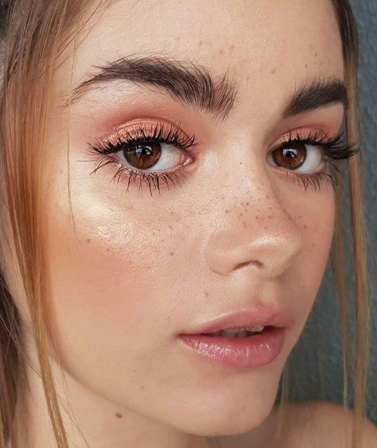 beautiful, fresh makeup