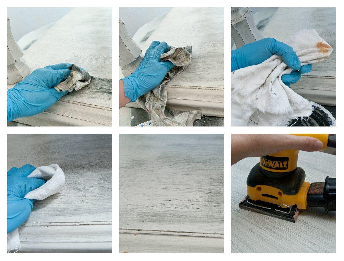 DIY Furniture · Grey Wash Painted ...