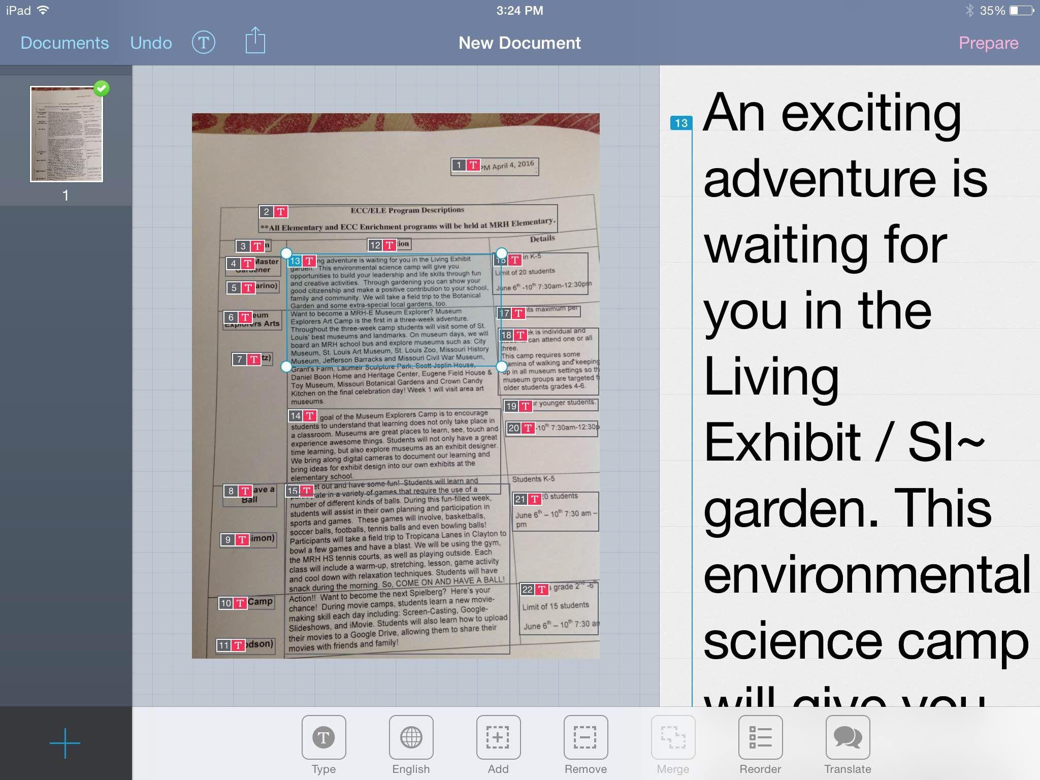 Simple Prizmo Ocr App Tutorial