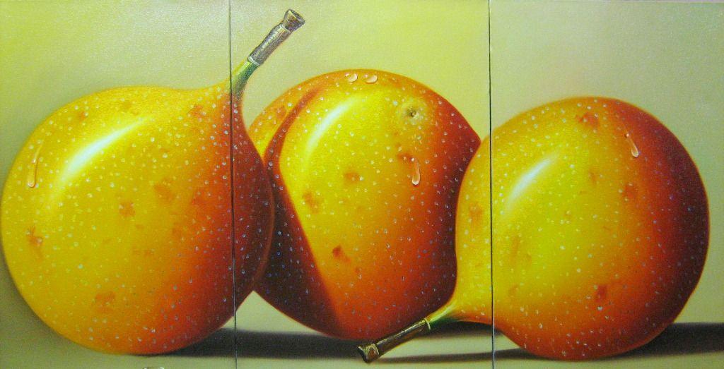 Pinturas & Cuadros: Cuadros de bodegones de frutas grandes ...