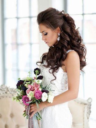 schöne hochzeitsfrisuren mit locken | bröllopsidéer