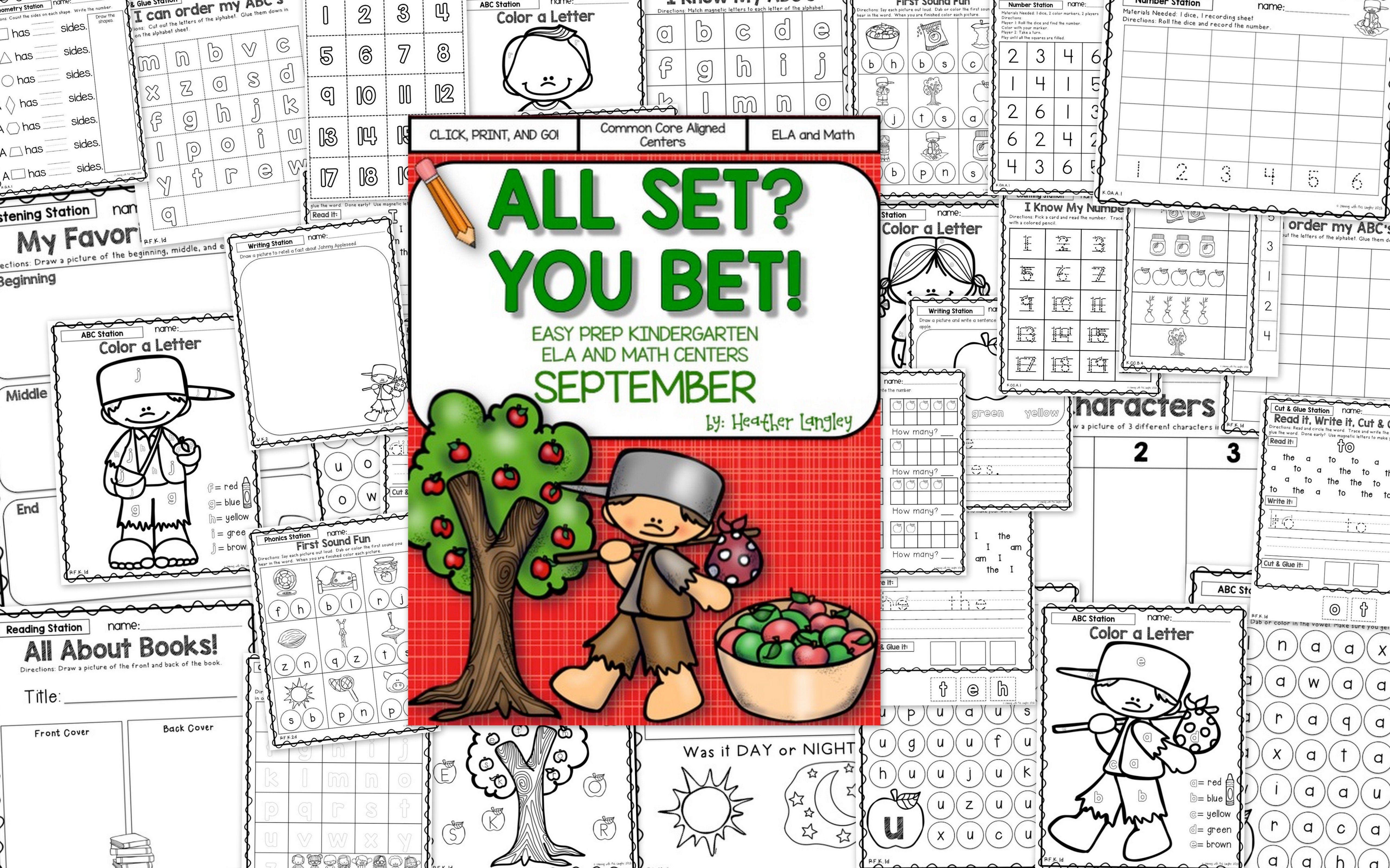 Easy Prep Centers September All Set You Bet