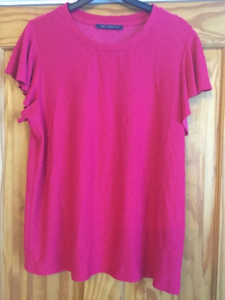 4dc2bde9f1bb4c Ladies Bright Pink Top Size 16 By M&S #fashion #clothing #shoes  #accessories #womensclothing #tops (ebay link)