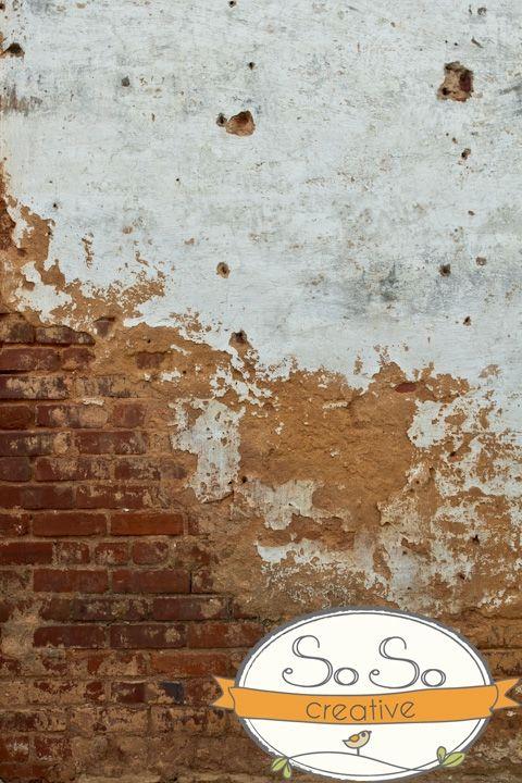 SoSoCreative Split Grunge Wall - Brick Backdrop. $50.