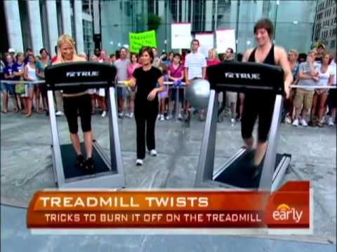 Tracy Anderson Treadmill Madonna's Training ...this looks like so much fun!