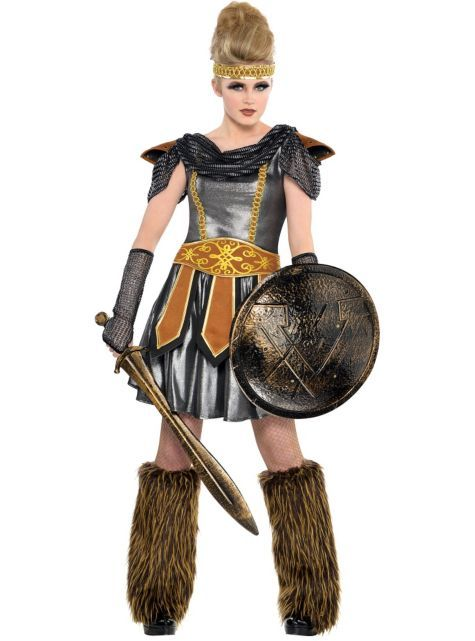 how to make a viking costume for a girl