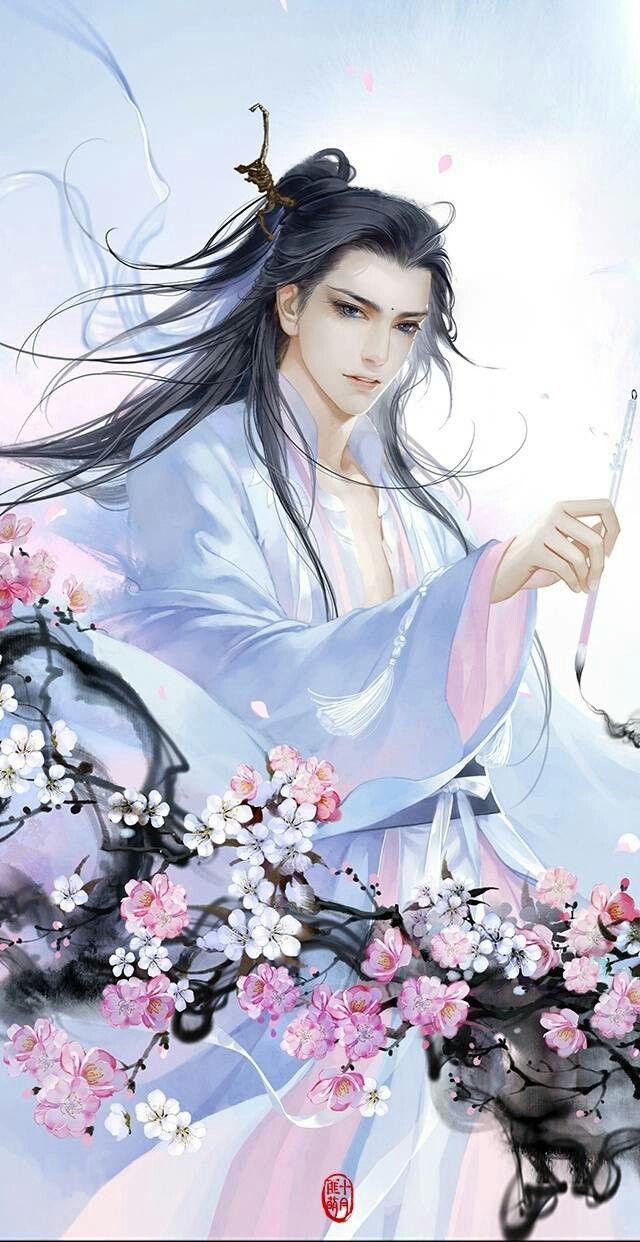 Chinese man art Fantasy art men, Chinese drawings