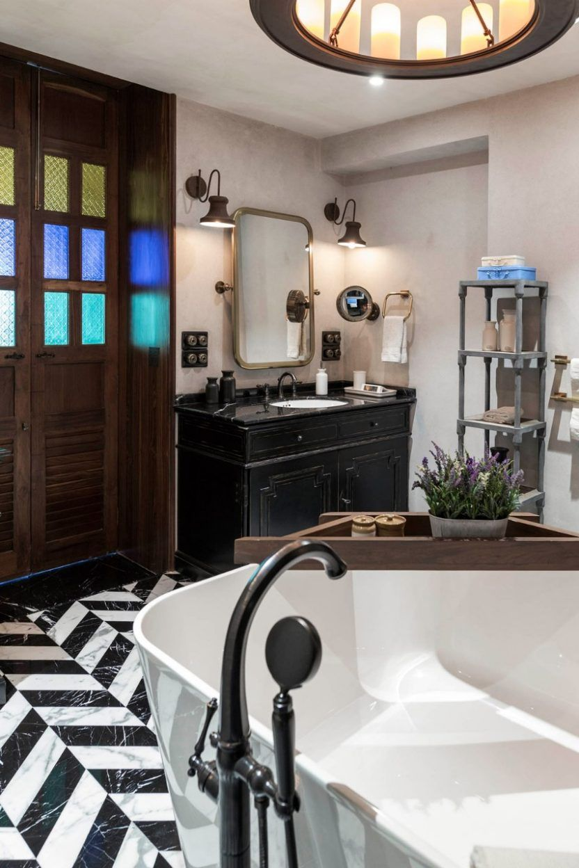 The Spacious Master Bathroom Has Luxury Written All Over It – A