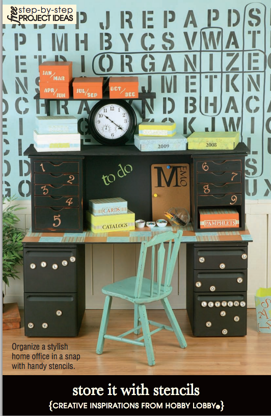 To Help Easily Locate Your Stuff Use Stencils To Label Your