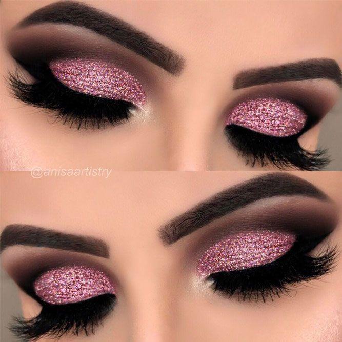 30 Make-up für den Abschlussball Sieht aus, als wolle er Glamour erstrahlen #makeupprom