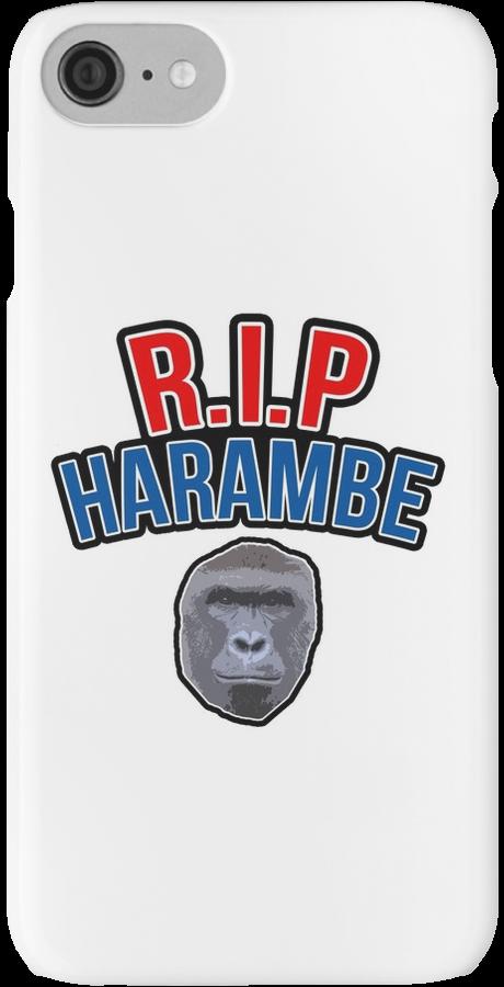 R.I.P Harambe!