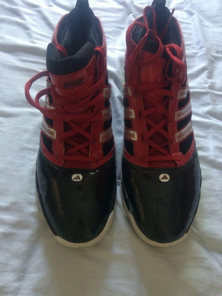 716ef00b38e7 Adidas Rapid Bounce Promo Sample Basketball Shoes Men s 17 Very Good  Condition