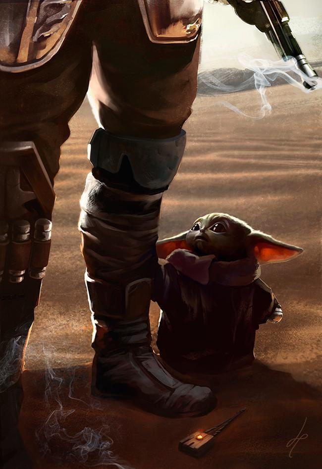 The Mandalorian Baby Yoda Star Wars Pictures Yoda Wallpaper Star Wars Yoda