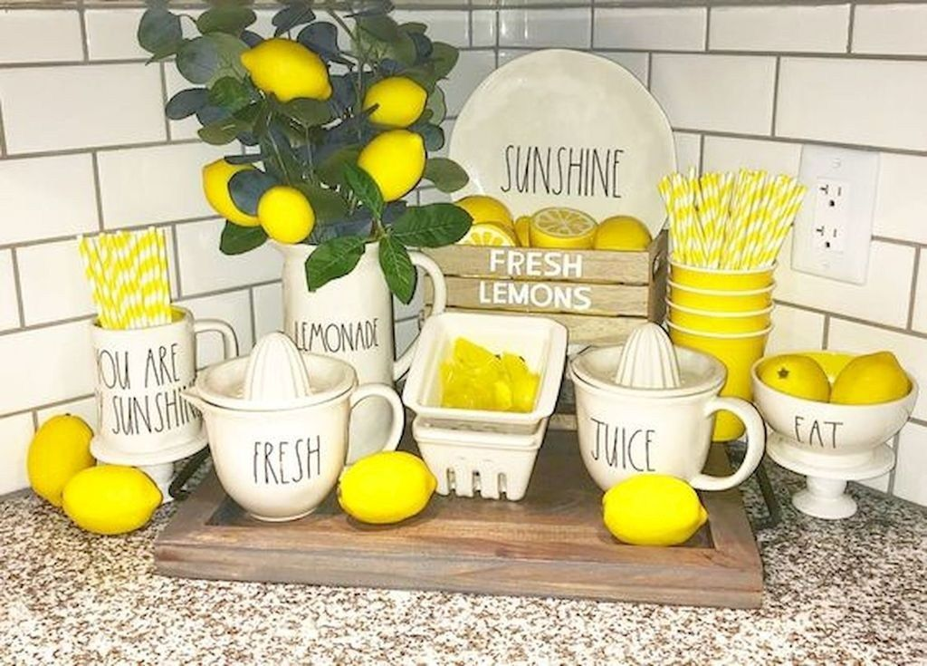 43++ Farmhouse lemon kitchen decor ideas in 2021