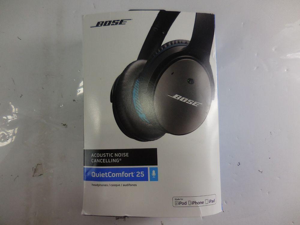 Bose Quietcomfort 25 Acoustic Noise Cancelling Headphones Consumer Electronics Portable Audio Headphones Headphones Ebay Ebay Audio Headphones Bose