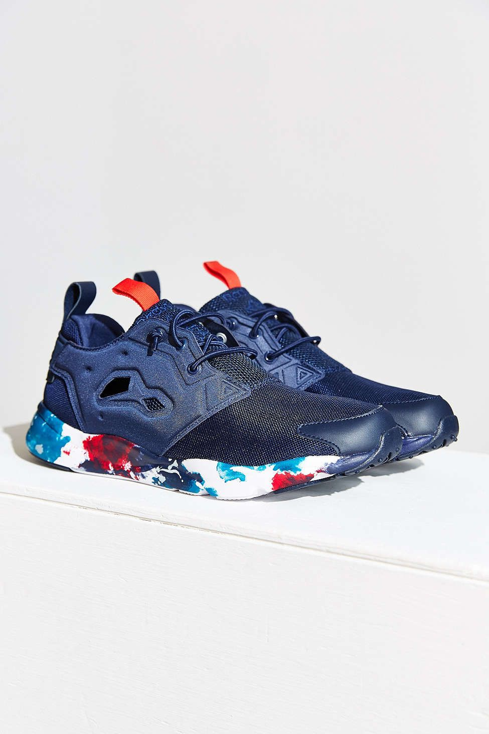 the best attitude 8b9c4 963d0 Reebok FuryLite Painted Sole Running Sneaker - Urban Outfitters