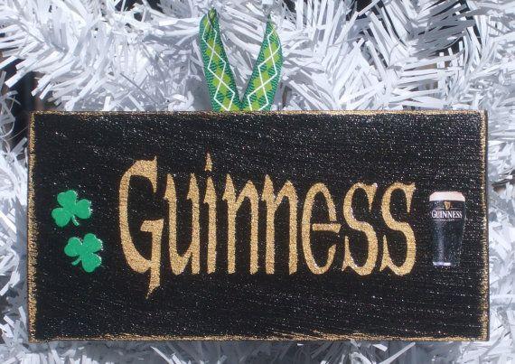 Guinness Sign Irish Sign Irish Ornament Irish by ...
