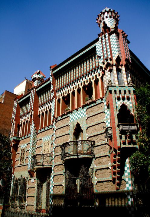 Pin By James Brendan Butler On Gaudi Gaudi Architecture Antoni Plàcid Guillem Gaudí I Cornet Barcelona Architecture