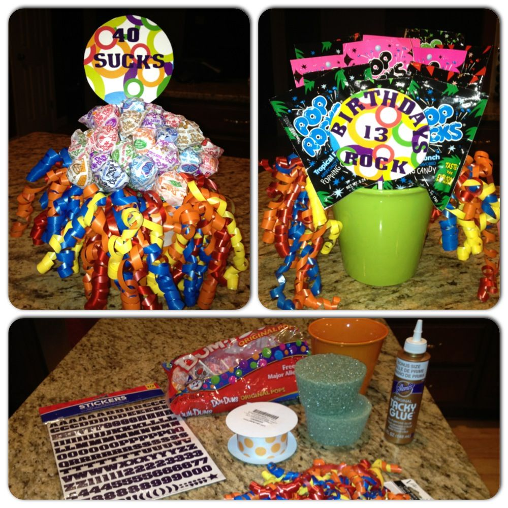 Birthday Candy Bouquet (With images) Candy bouquet