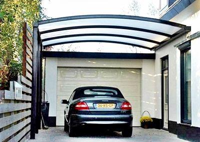 Motif Contoh Model Dan Desain Gambar Kanopi Garasi Rumah Minimalis Pergola Patio Desain Garasi Minimalis