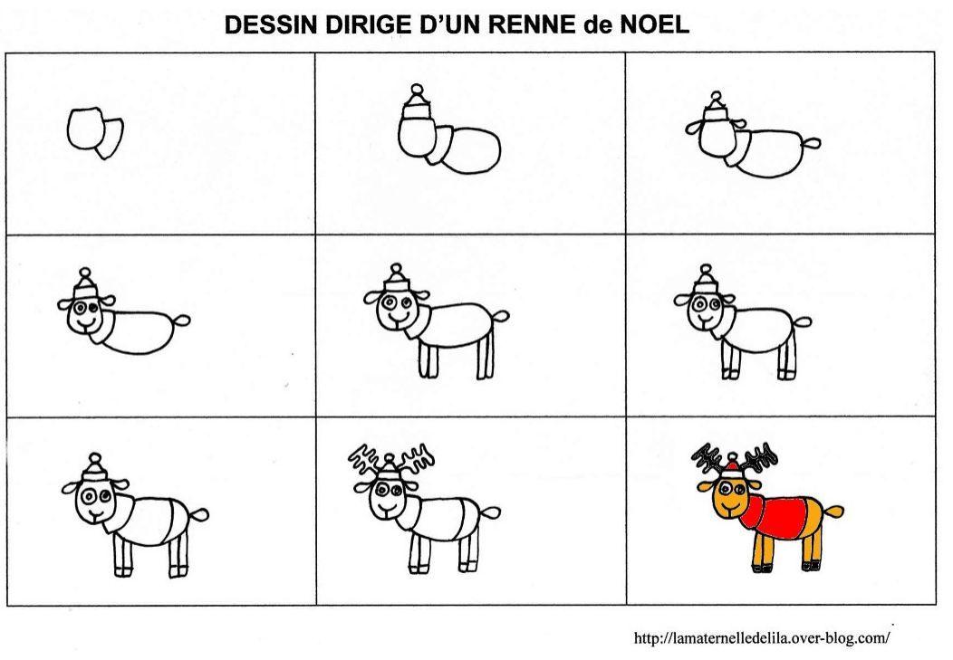 Des rennes frileux no l pinterest noel rennes et dessin - Dessiner un renne ...