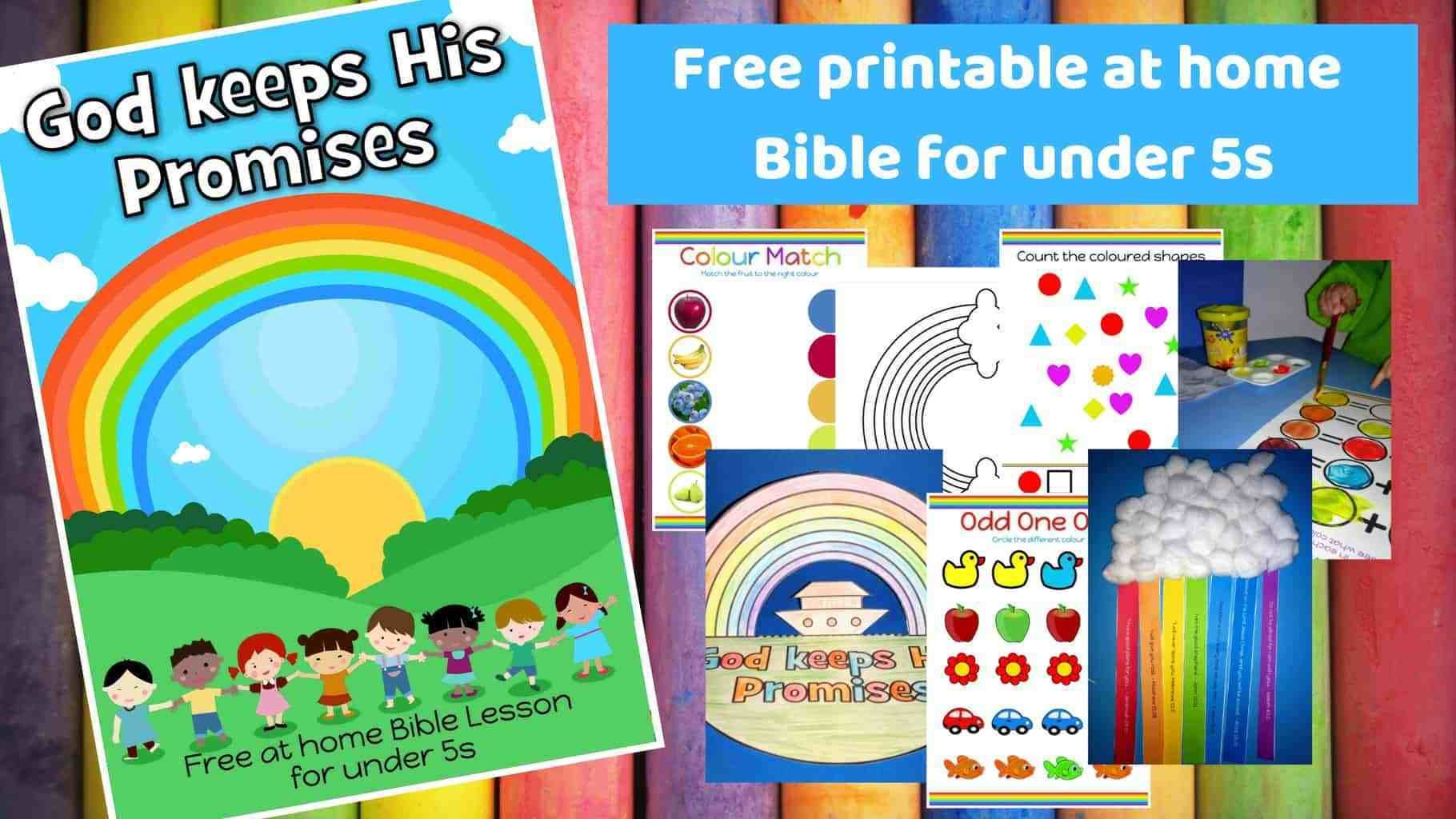 God Keeps His Promises Free Printable Bible Lesson For